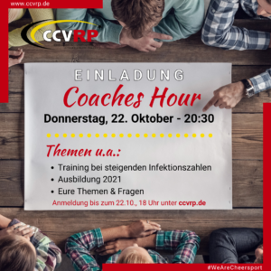 Coaches Hour – 22.10.2020