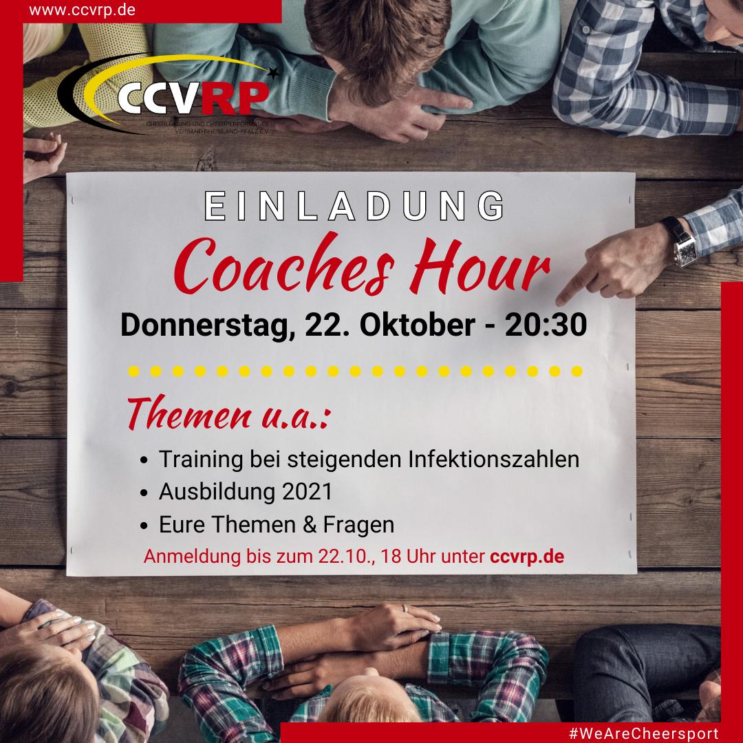 Coaches Hour – 22.10.2020