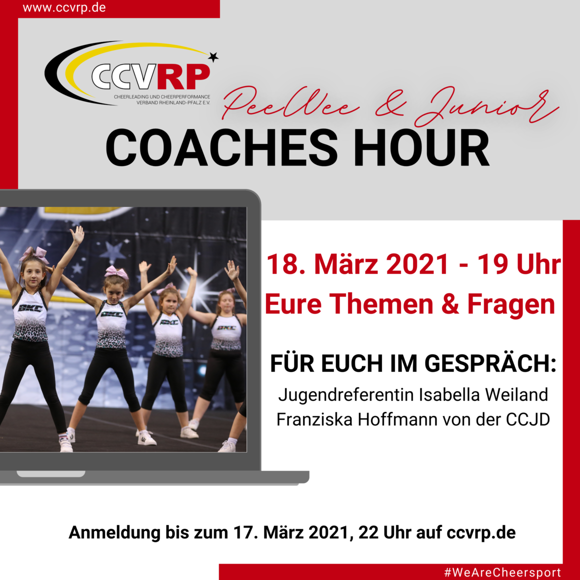 PeeWee & Junior Coaches Hour
