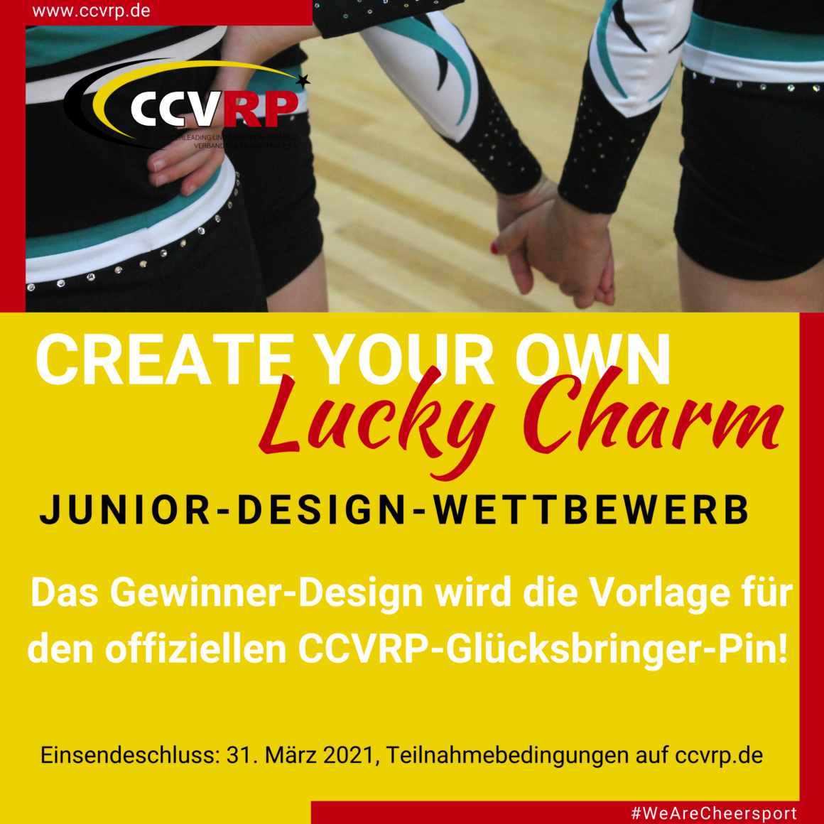Create Your Own Lucky Charm – Junior Design Wettbewerb
